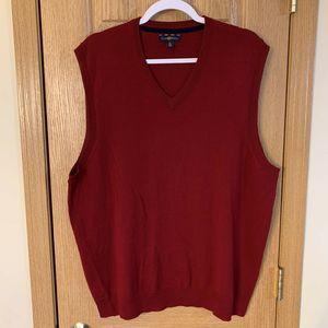Sweater Vest Men's Club Room V Neck XL